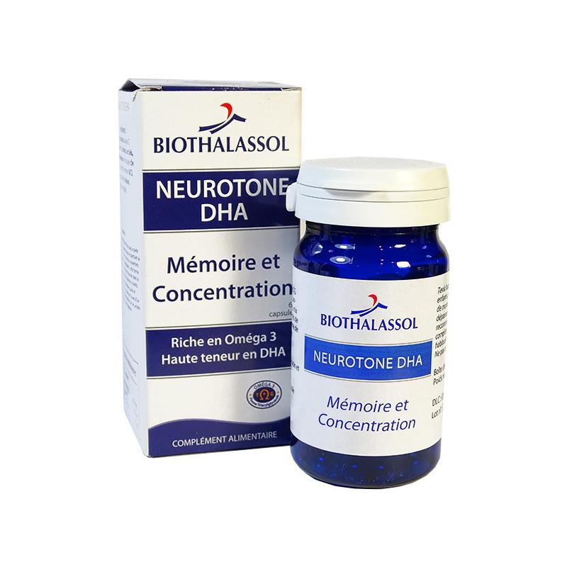 Neurotone DHA 60 capsules Biothalassol 60 capsules