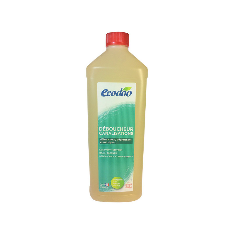 Déboucheur Canalisations 1L Ecodoo 1 litre