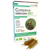Complexe mémoire Bio Nutrivie 20 ampoules 20 ampoules de 15ml