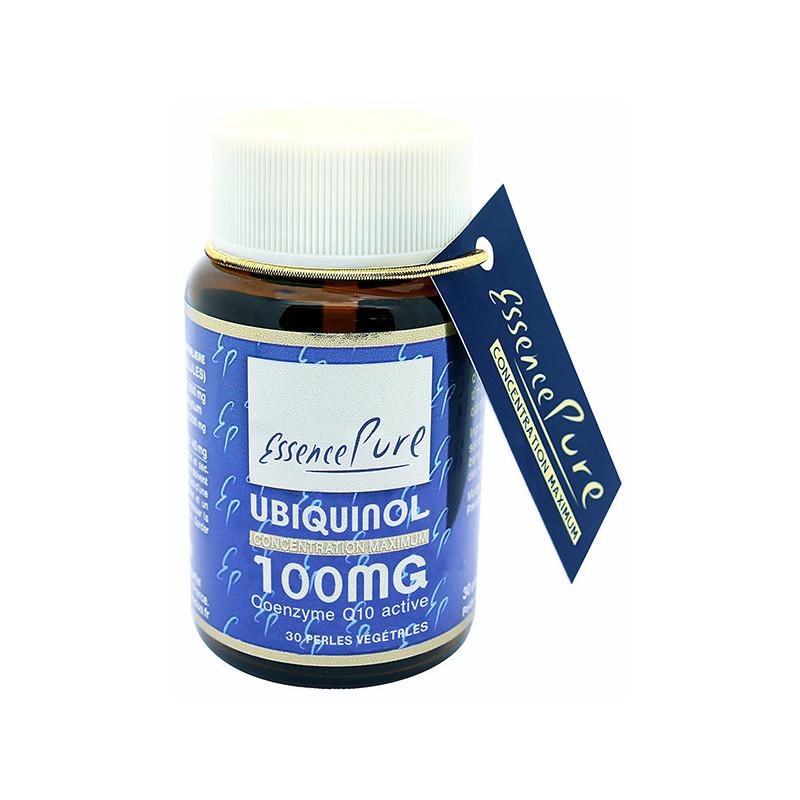Ubiquinol Kaneka™ 100 mg 30 perles Essence Pure 30 perles végétales