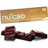 Barre Nucao Vanille cajou Bio 40g