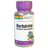 Berbérine 60 gélules Solaray 60 capsules végétales
