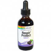 Respir'Protect Sirop 59ml Solaray flacon goutte 59ml