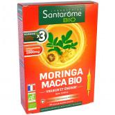 Moringa Maca Bio 20 ampoules Santarome 20 ampoules de 10ml