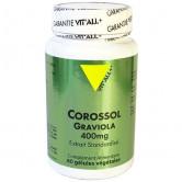 Corossol Graviola 400mg 60 gélules Vitall+ 60 gélules végétales