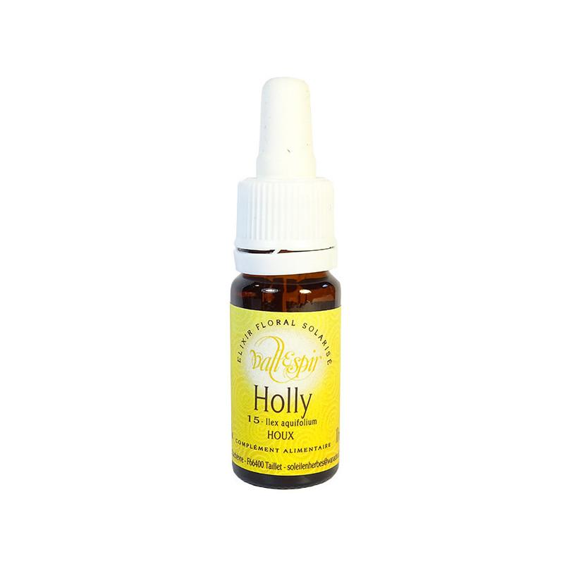 Holly 10ml Elixir Vallespir flacon 10ml