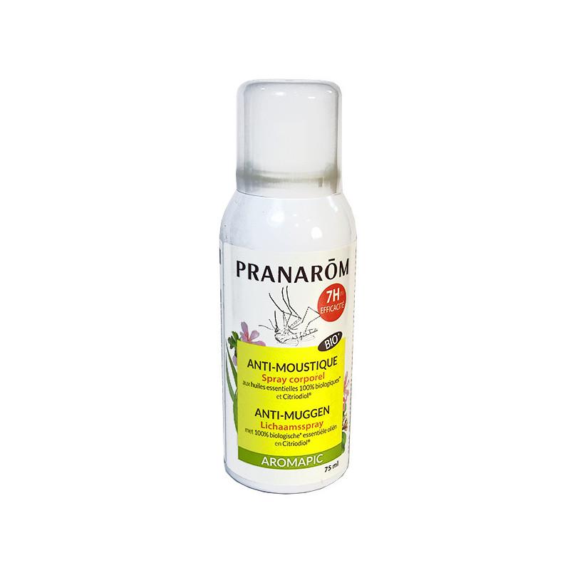 Aromapic Spray Corporel Bio Anti-Moustique Pranarom Spray 75ml
