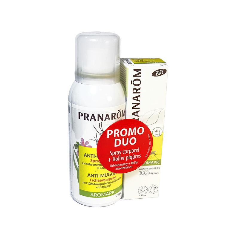 Aromapic promo Duo Spray Anti-moustique Pranarom Pack promo duo