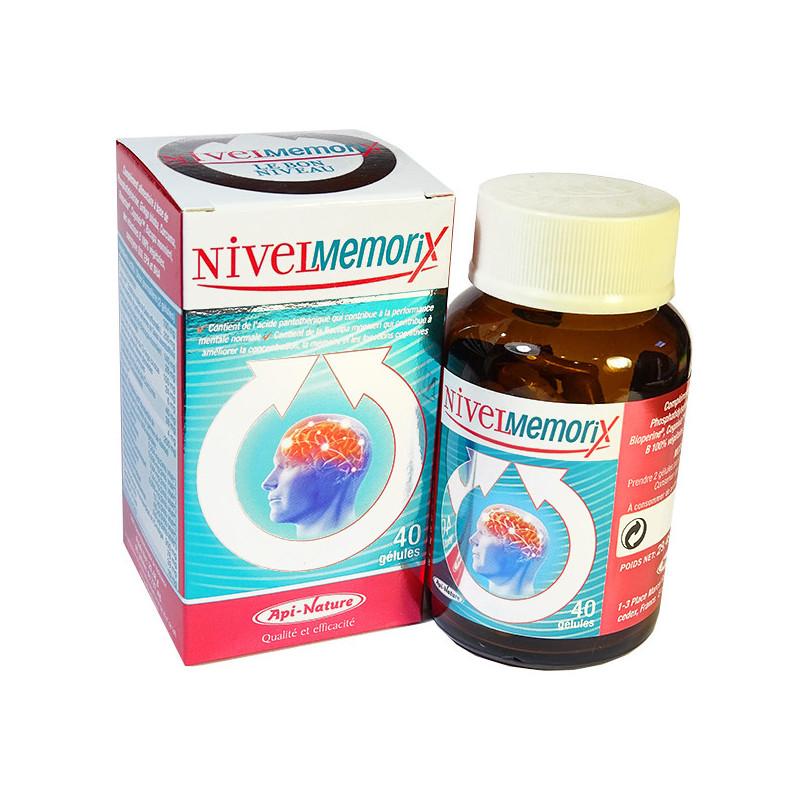 NivelMemoriX 40 gélules Api-Nature 40 gélules