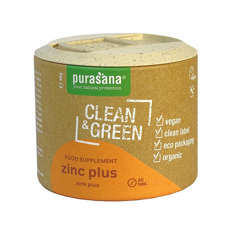 Zinc Plus 60 comprimés Purasana