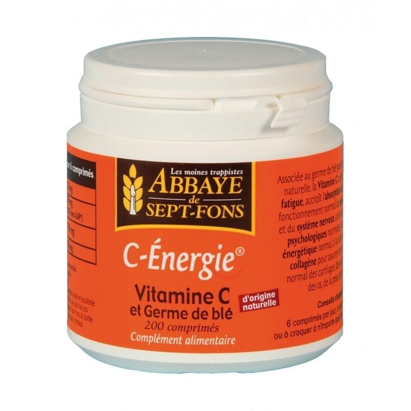 C-Energie vitamine C 200 comprimés