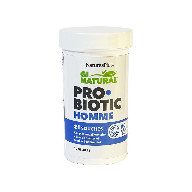 Probiotic_Homme_30_gélules_Naturesplus