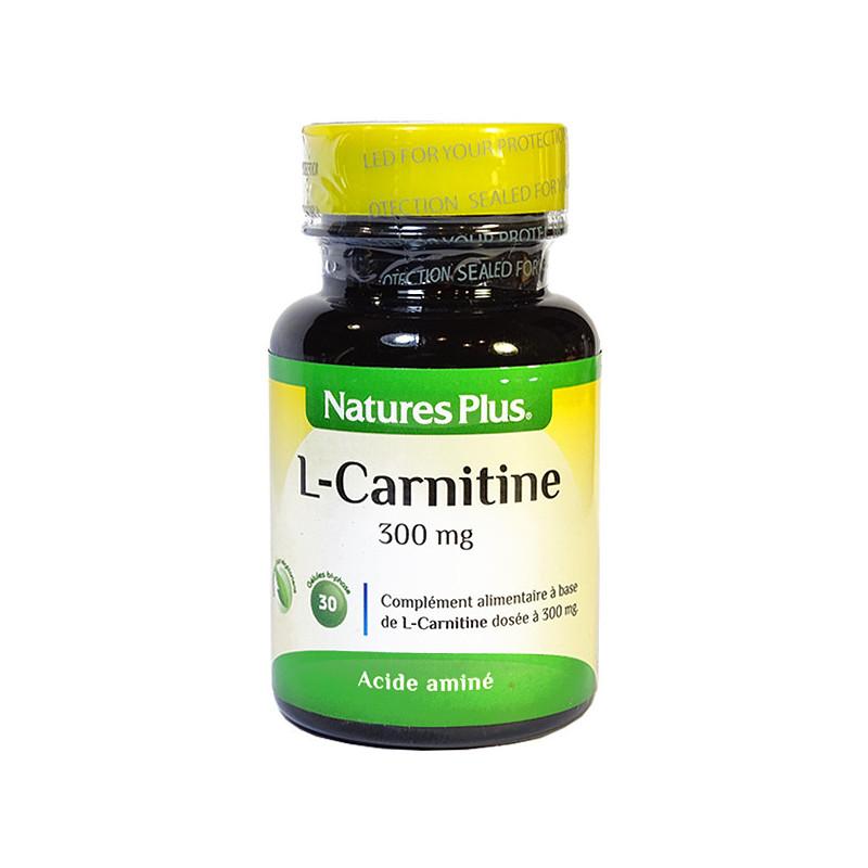 L-Carnitine_300mg_30cp_Nature's_Plus