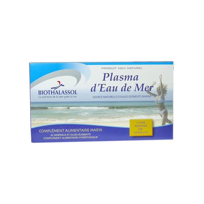 Plasma d'eau de mer Biothalassol 20 ampoules