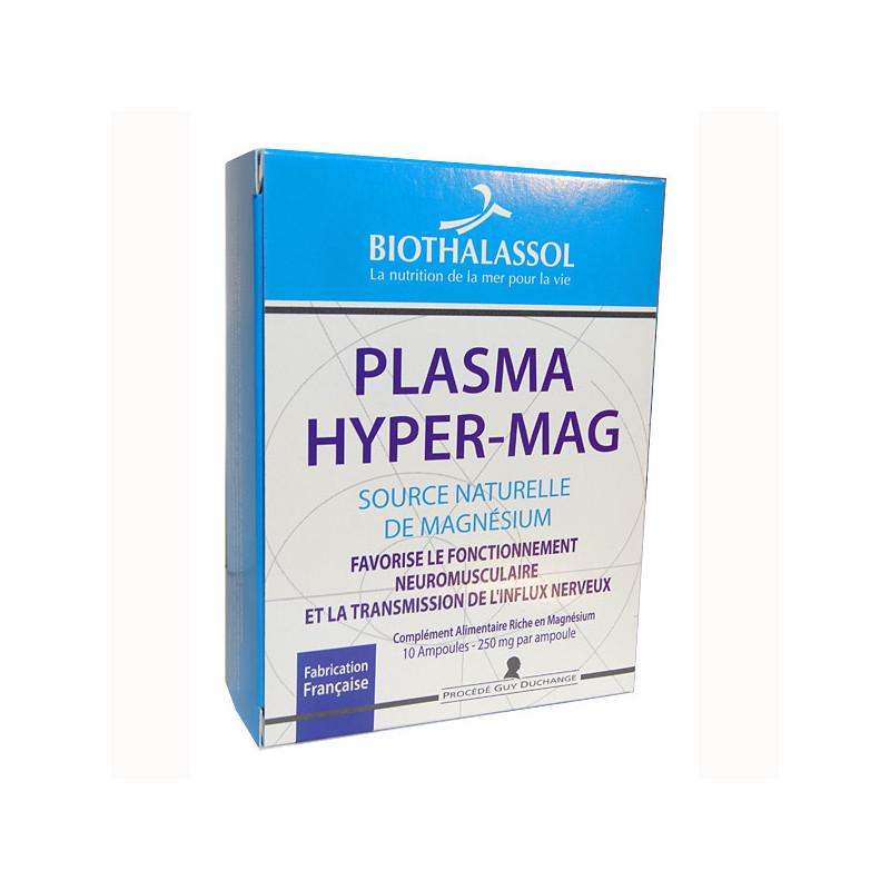 Plasma hyper-mag 10 ampoules