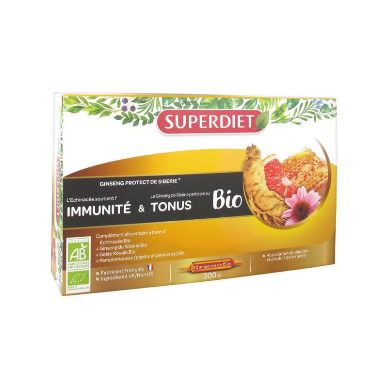 Ginseng Protect Bio de Sibérie Super Diet 20 ampoules
