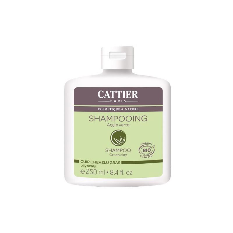 Cattier shampoing cheveux gras argile 250ml
