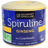 Spiruline_Ginseng_180_comprimés_Gourmet_Spiruline