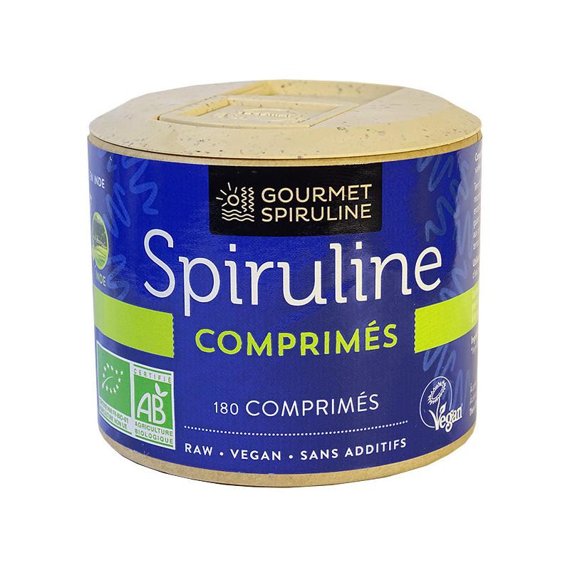 Spiruline_bio_180_comprimés_Gourmet