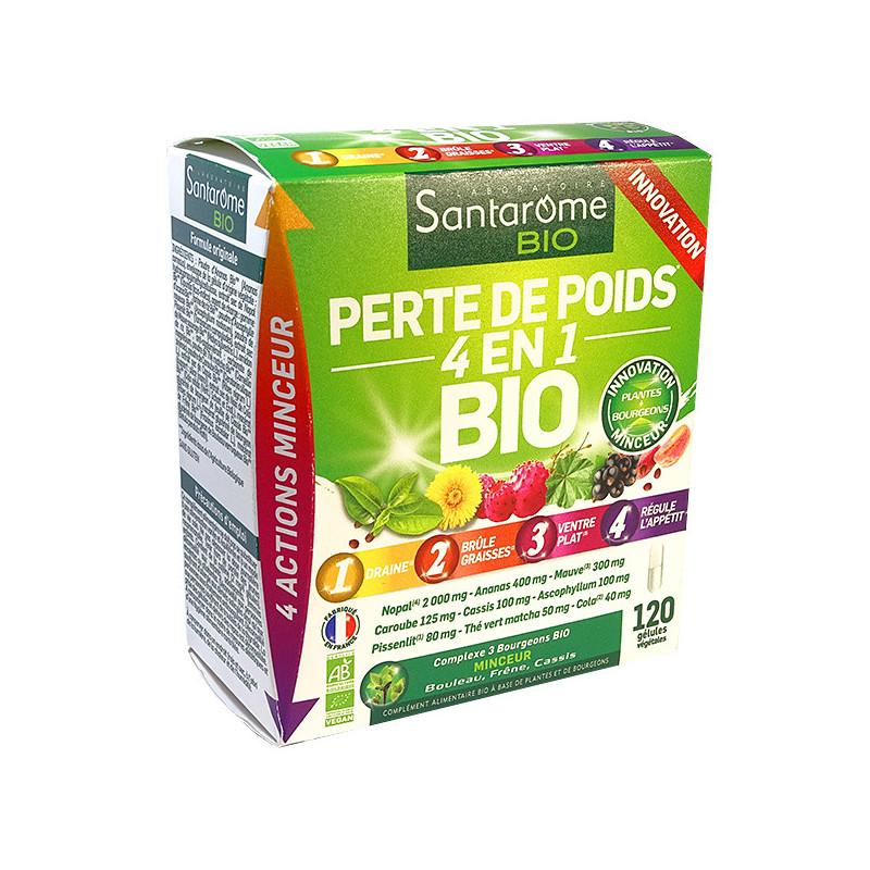 Perte_de_poids_4_en_1_Bio_120_gélules_Santarome