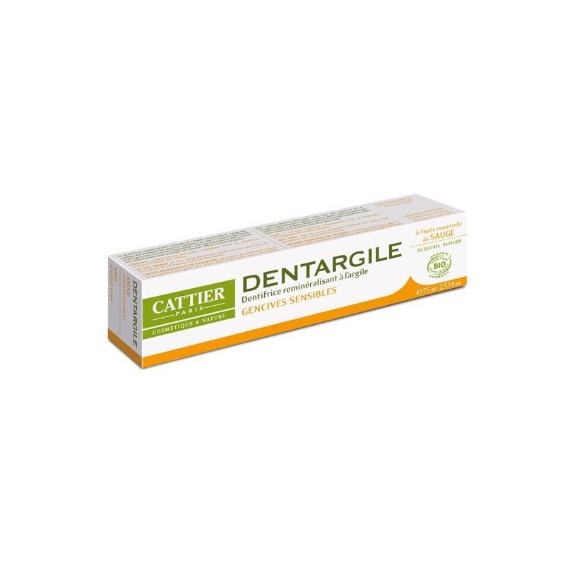 Dentargile Sauge 75ml Cattier tube 75ml