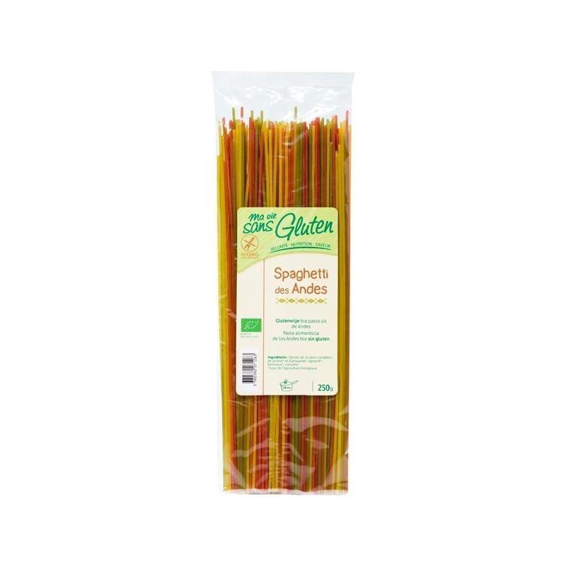 Pâtes spaghetti des andes 250 gr