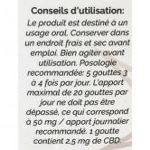 EUTRA_CBD_Huile_de_chanvre_5%_10ml_ingrédients_Utilisation