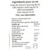 EUTRA_CBD_Huile_de_chanvre_20%_10ml_ingrédients
