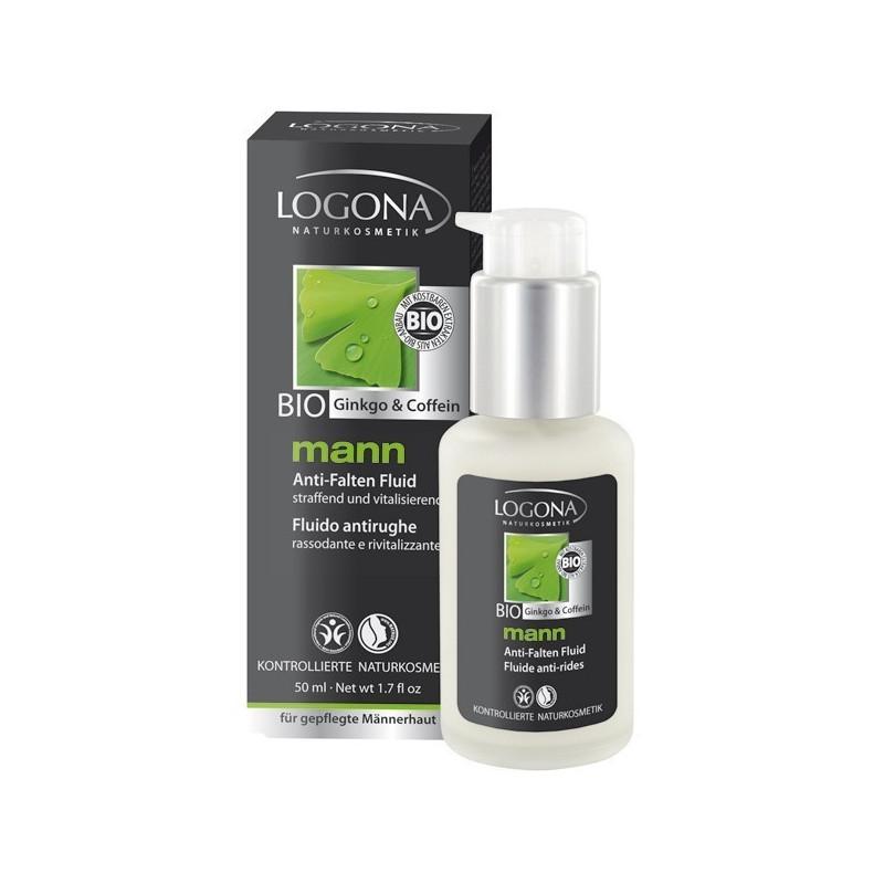 Logona Mann crème hydratante Q10 Tube 50ml