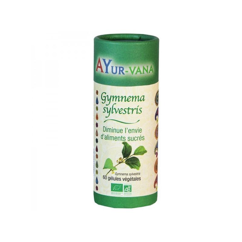 Gymnema Sylvestris Bio Ayur-Vana 60 gélules végétales de 317 mg