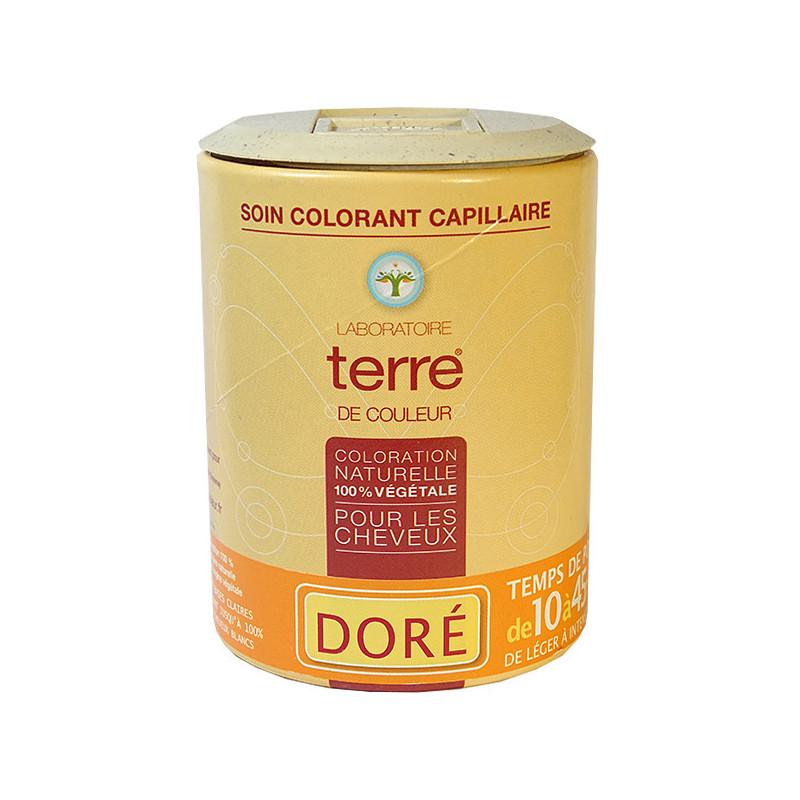 Coloration_naturelle_Doré_Terre_de_couleur