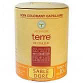Coloration_naturelle_Sable_doré_Terre_de_couleur