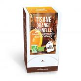 Tisane Bio Orange Cannelle 20 sachets