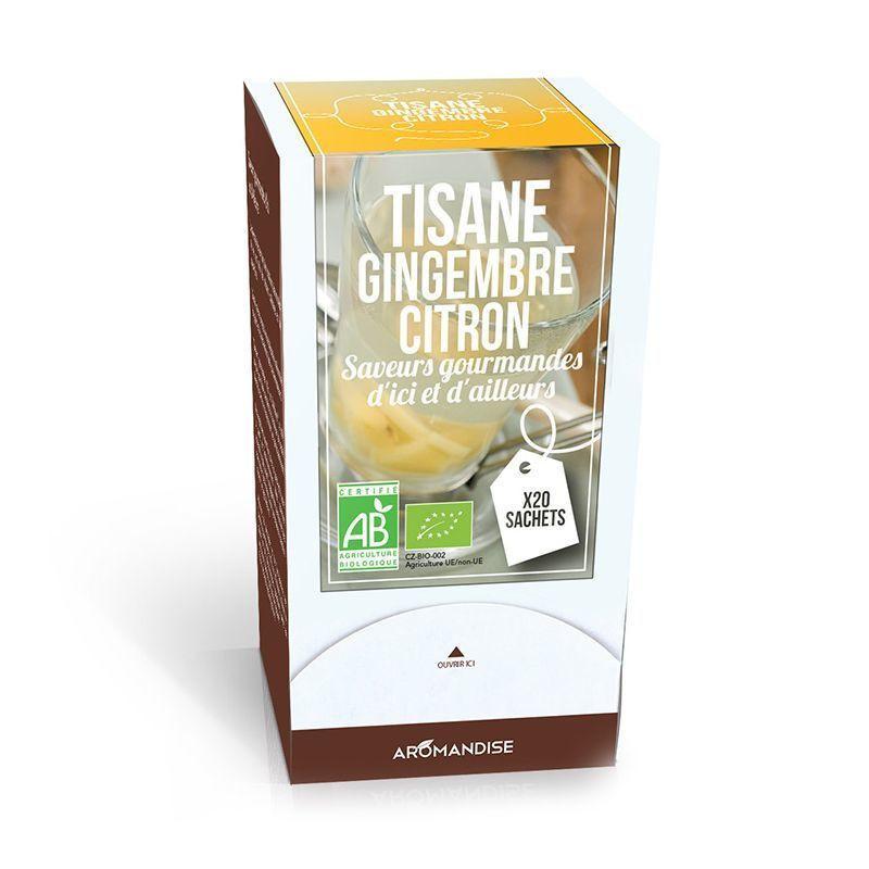Tisane Bio Gingembre Citron 20 sachets
