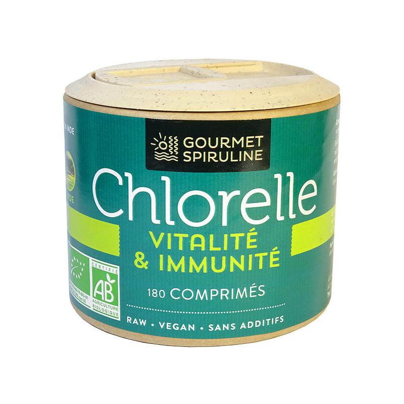 Chlorelle_bio_180_comprimés_Spiruline_Gourmet
