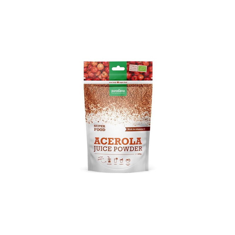 Poudre d'Acérola 100 gr Purasana