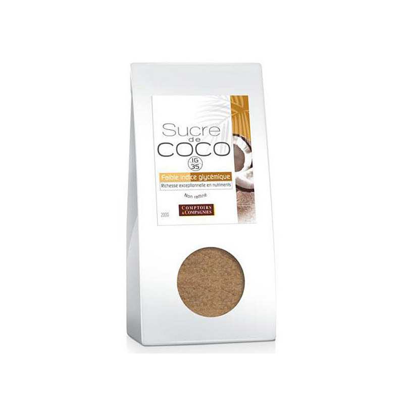 Sucre de Coco Bio 200gr sachet 200g