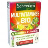 Multivitamines_bio_15_gélules_santarome