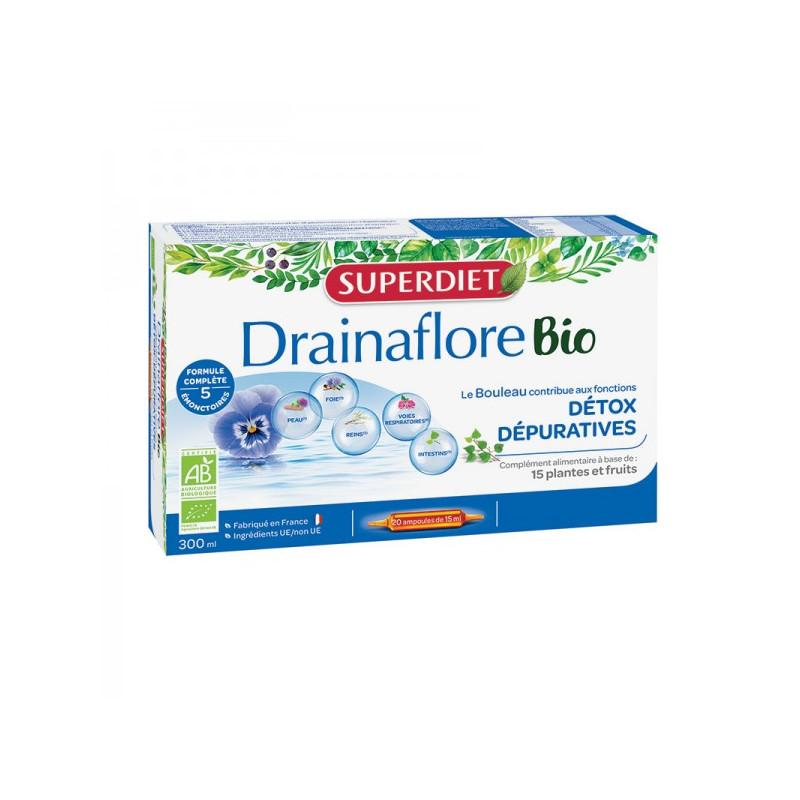 Drainaflore Super Diet Ampoules