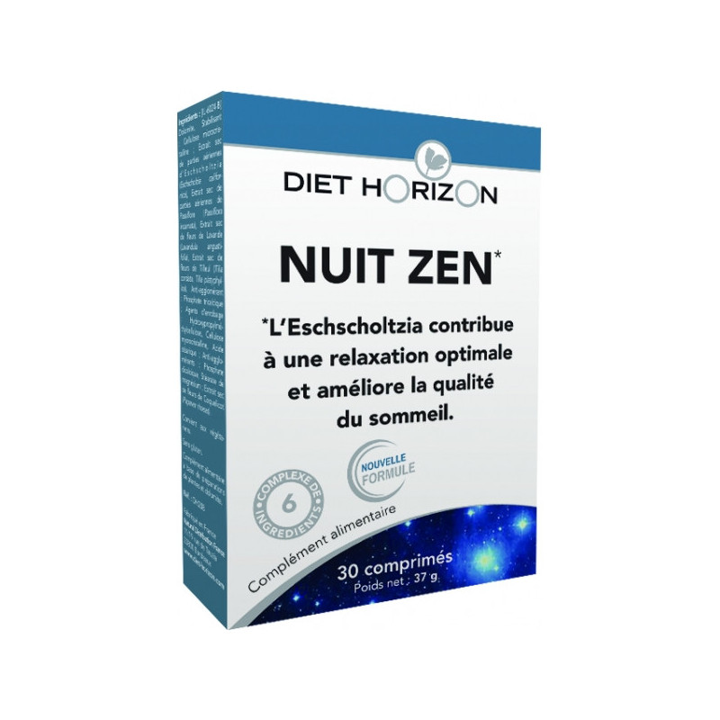 Nuit Zen 30 comprimés