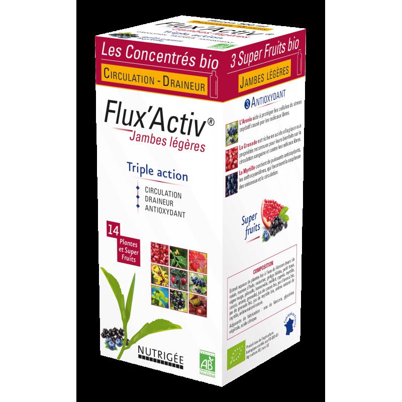 Flux'Activ Bio boisson 300ml Nutrigée