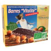 Barres Céréales bio spiruline vitalité Etui de 4 barres de 25g