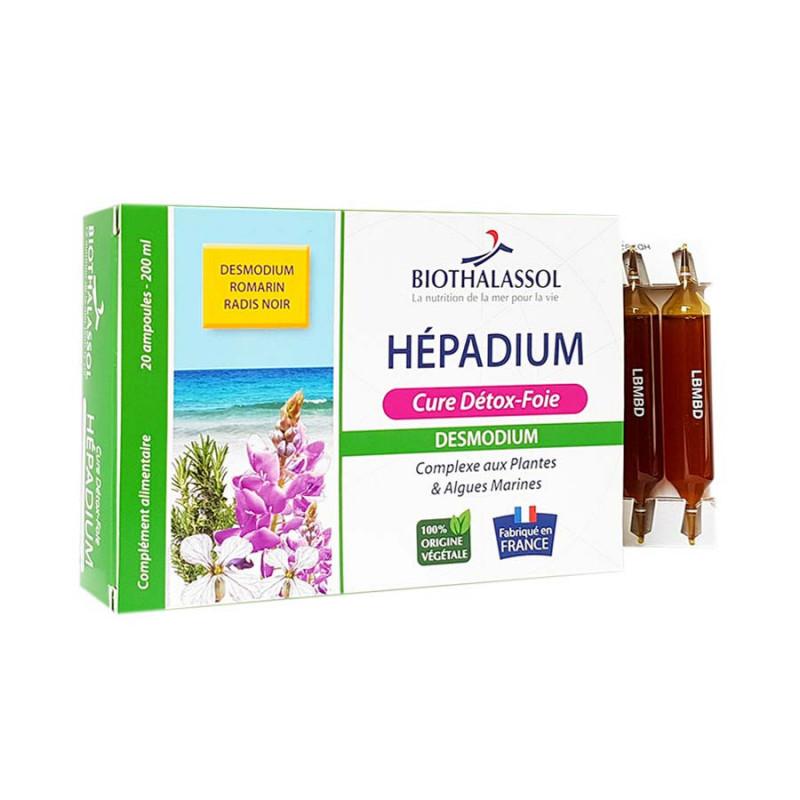 HEPADIUM 20 ampoules Biothalassol