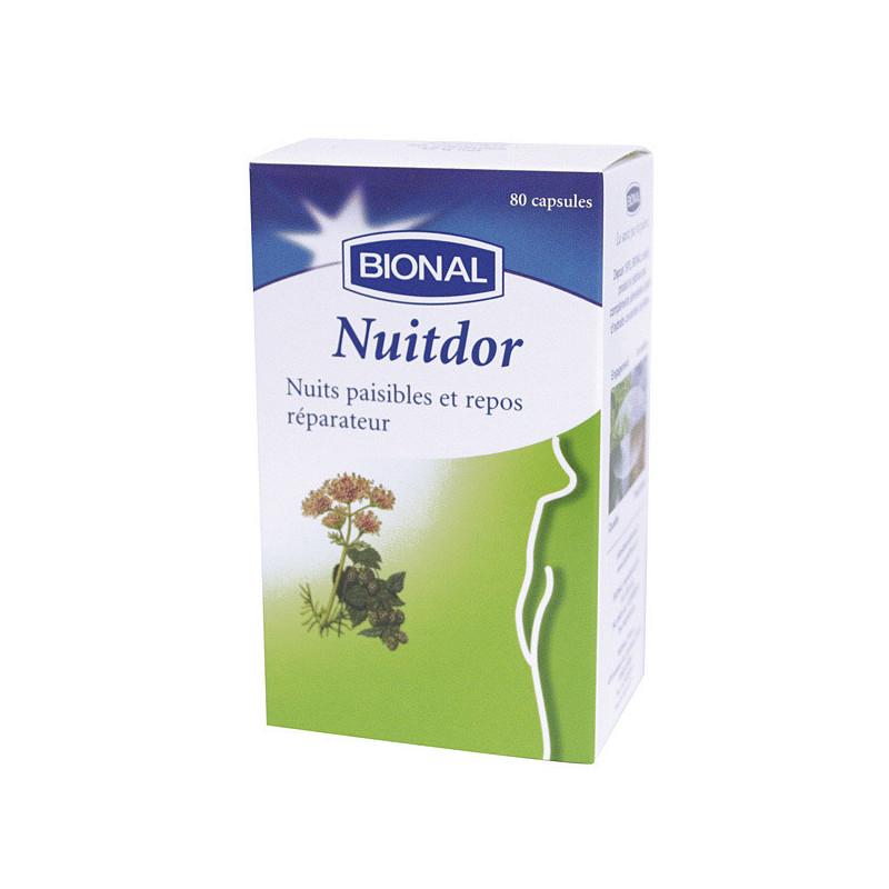Nuitdor bional 80 caps. 80 capsules