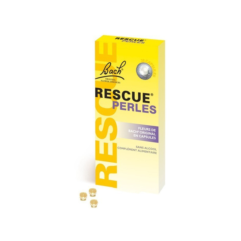 Rescue 28 perles sans alcool 28 perles