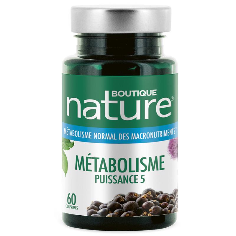 Métabolisme Puissance 5 60 comprimés
