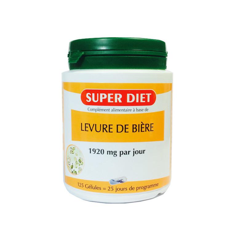 Levure de bière Super Diet 125 gélules