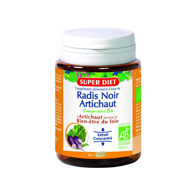 Radis noir - Artichaut bio 80 comprimés