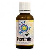 Quartz Rutile Flacon goutte 30ml