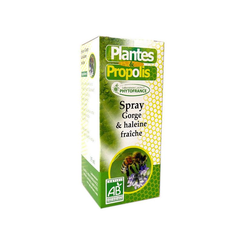 Plantes & Propolis Spray Gorge bio spray 15 ml
